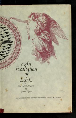 An exaltation of larks