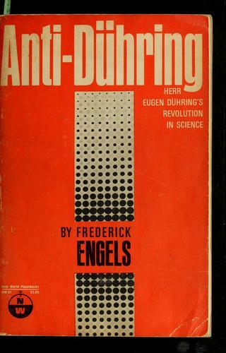 Download Herr Eugen Dühring's revolution in science (Anti-Dühring)