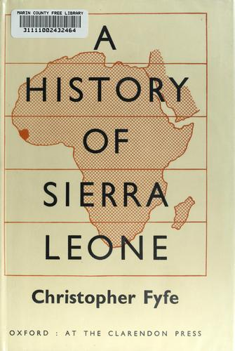 A History of Sierra Leone. —