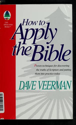 Download How to apply the Bible