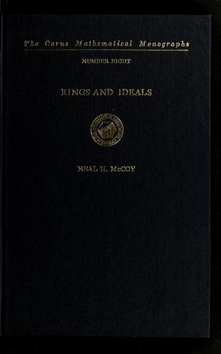 Download Rings and ideals