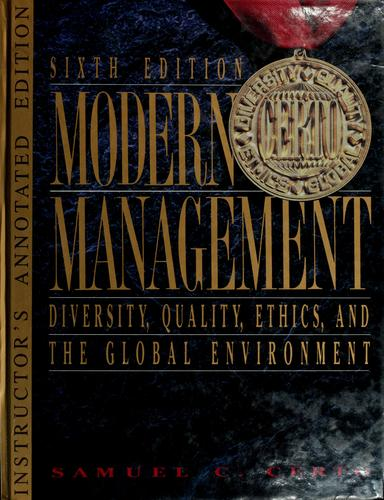 Download Modern management