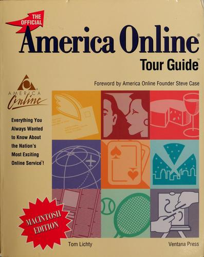 The official America Online tour guide