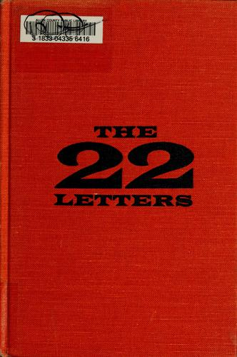 Download The twenty-two letters
