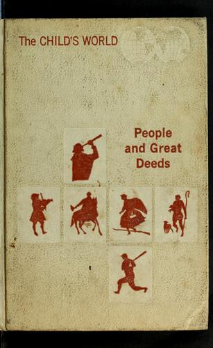 People and great deeds by Esther M. Bjoland, Anne Neigoff