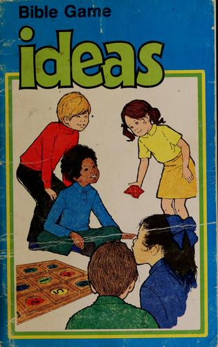 Bible games ideas by Shirley Beegle